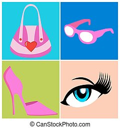 Womens Accessories - An image of a womens accessories.