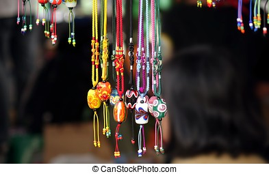 Colorful Glass Beads Jewelry
