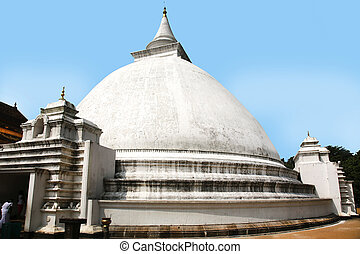 Kelaniya Temple Colombo - stupa of the Kelaniya Temple of...