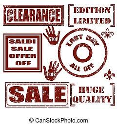 set stamp sale