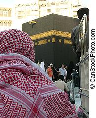 Ka\'aba sharif - A view of the ka\'aba Sharif in Mecca