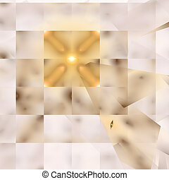 Abstract elegance background. Gold - yellow palette. Raster...