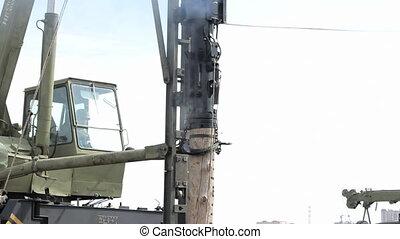 Diesel Pile Driver