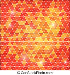 Abstract  background of triangular polygons