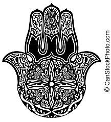 Hamsa hand - Decorative symbol