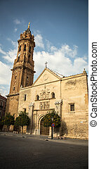 church and tower in antequera - Church and tower in the town...