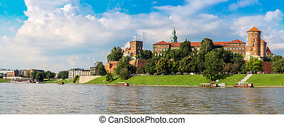Wawel castle in Kracow - The Wawel castle in Kracow...