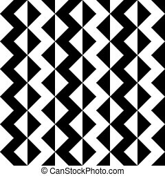 Seamless ZigZag Pattern - Vector Abstract Seamless ZigZag...