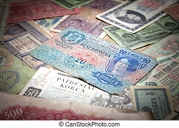 Historical paper money