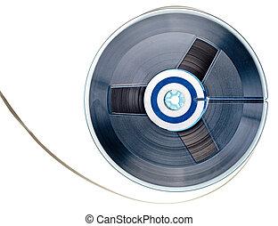 Vintage reel tape