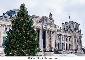 parliament germany december - german parliament in december...