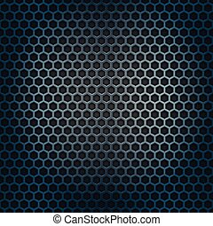 Metal cell background Design template