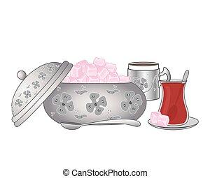 bowl of turkish delight