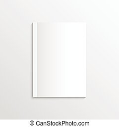 Blank sheet of paper, magazine covers, postcards. Corporate...