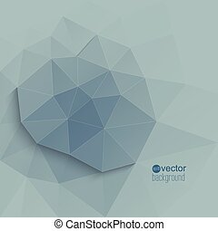 Abstraktyny Vector background with triangles and geometric...
