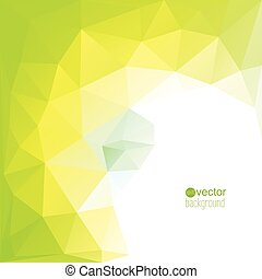 Abstract vector template for modern design. Trend. Cover for...