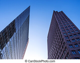 office buildings at potsdamer platz in berlin