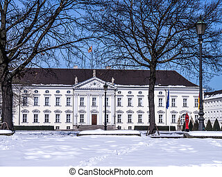 schloss bellevue in berlin president of germany