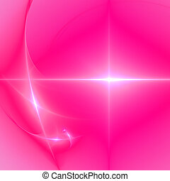 Abstract background. Pink - white palette. Raster fractal...