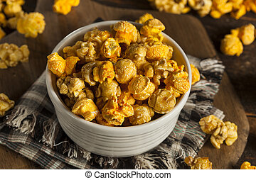 Chicago Style Caramel and Cheese Popcorn Mixture