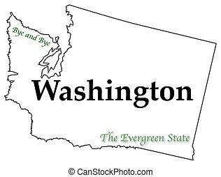 Washington State Motto and Slogan - A Washington state...
