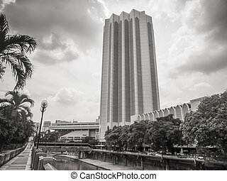 Dayabumi Complex KL, Malaysia - KUALA LUMPUR, MALAYSIA -...