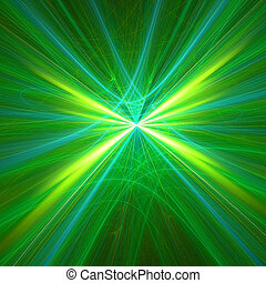 Abstract background. Yellow - green palette. Raster fractal...