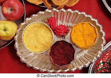 Indian Wedding - Hindu ritual objects