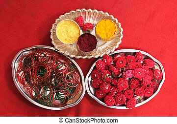 Indian Wedding - Hindu ritual items