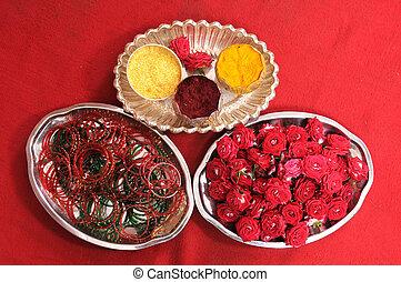 Indian Wedding - Hindu ritual items