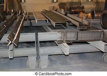 metallic profile channel - purified metal profile channel...