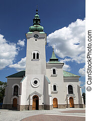 Roman catholic church - Roman catholic at town Ruzomberok -...