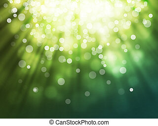 bokeh abstract background - green bokeh abstract light...