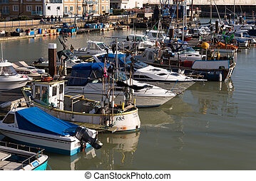 View of Brighton Marina in Brighton