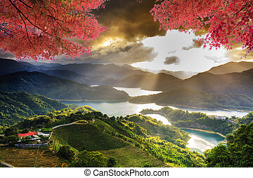 Image of beatiful landscape, Taiwan for adv or others...