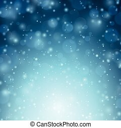 Christmas snowy background - Winter background with snow...