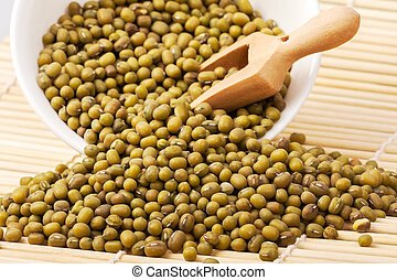 he mung or moong bean is the seed of Vigna radiata, native...