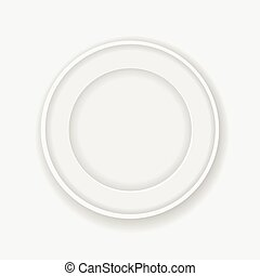 white circle frame for your photo or picture