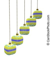 Hanging Christmas Decoration Baubles