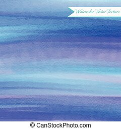 Abstract blue watercolor background
