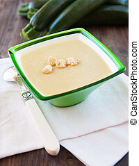 delicious soup - Photo of fresh delicious soup pureed squash