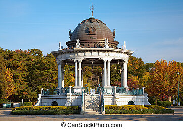 Rotunda - Old rotunda in the Zurumai park Nagoya, Japan