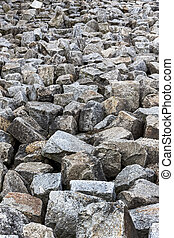 stones - a stack of natural stone is located next to each...
