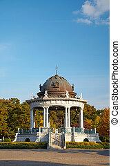 Rotunda - Old rotunda in the Zurumai park. Nagoya, Japan