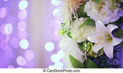Flower decoration bokeh