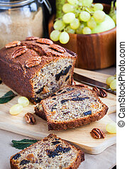 Homemade banana loaf - Delicious fresh homemade banana bread...