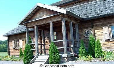 Old house - Kosava village, Belarus. In this house was born...