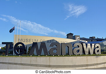 Palmerston North - New Zealand - Te Manawa museum -...