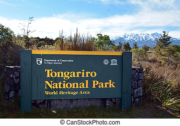 Tongariro National Park - NATIONAL PARK, NZ - NOV 25...