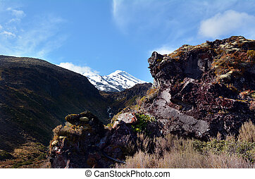 Tongariro National Park - Mount Ruapehu - NATIONAL PARK, NZ...